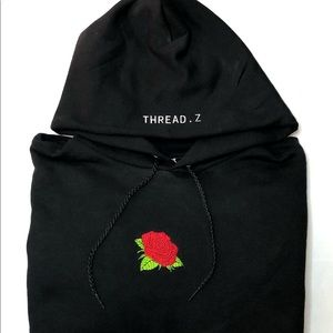 Brand new rose hoodie by THREAD.Z